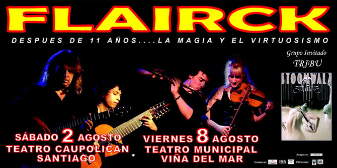 Flairck - The Chilean Concerts